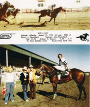 Deck O Copy - Johnny Beierbach - horse racing - click to enlarge