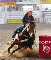Juice & Donna Beierbach - Innisfail Pro Rodeo 2009 - click for more info
